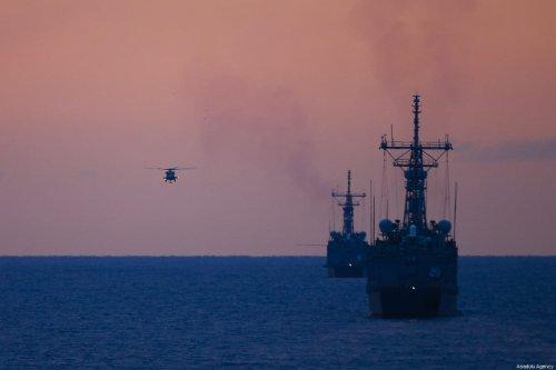 Vessels at sea [Mustafa Çiftçi/Anadolu Agency]