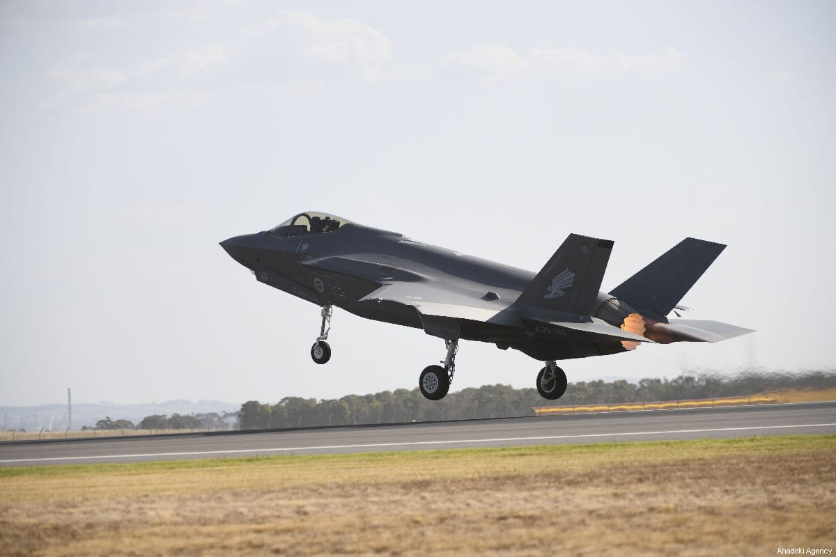 Turkish F-35 pilots no longer flying at USA  base