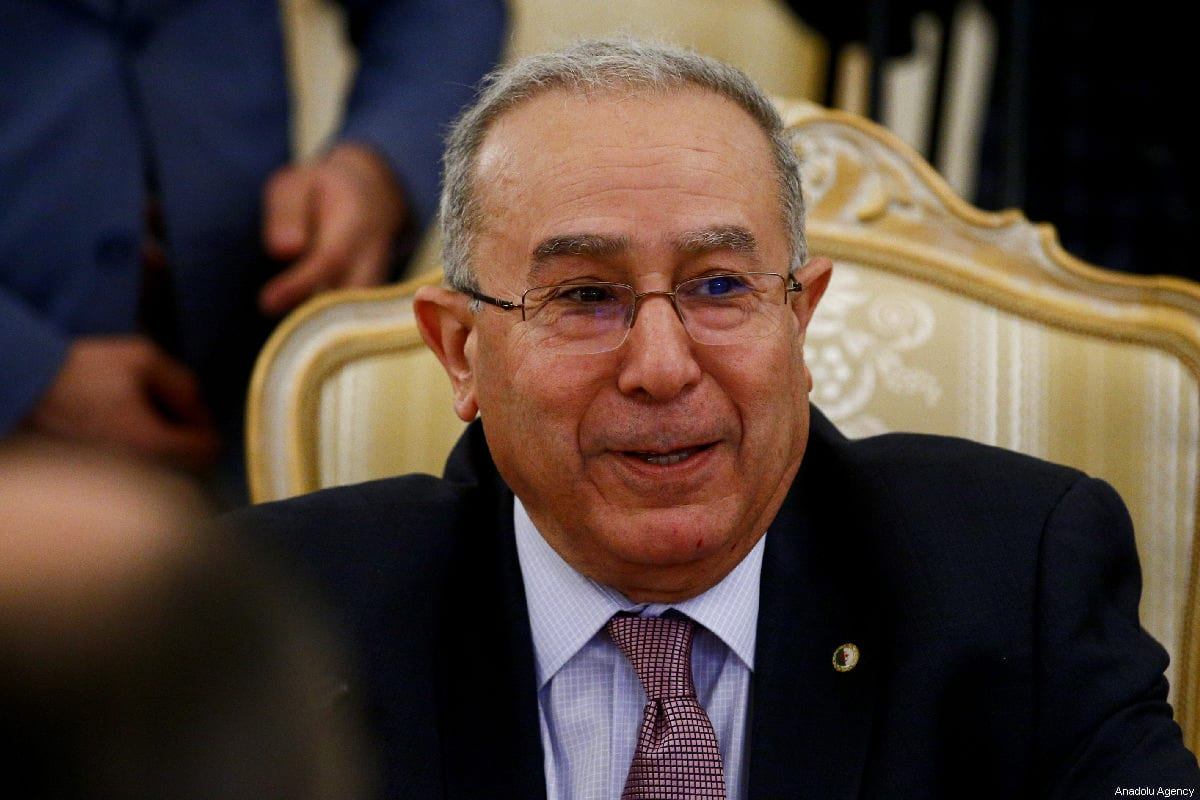 Algerian Foreign Minister Ramtane Lamamra meets with Russian Foreign Minister Sergey Lavrov (not seen) in Moscow, Russia on March 19, 2019 [Sefa Karacan - Anadolu Agency]