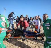 3 Palestinians injured by Israel in Gaza