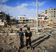 Palestinian children are being targeted by a shadowy campaign group
