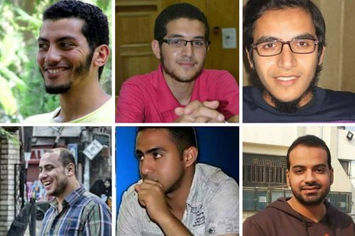 The Mansoura 6 are expected to be executed in Egypt after being found guilty of crimes they say they 'could not' have committed