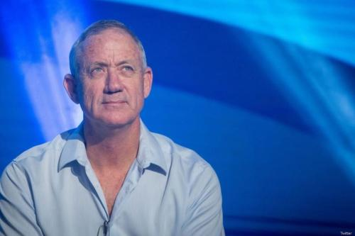 Benny Gantz, former Israeli military chief of staff and presidential candidate on 16 March 2019 [Twitter]