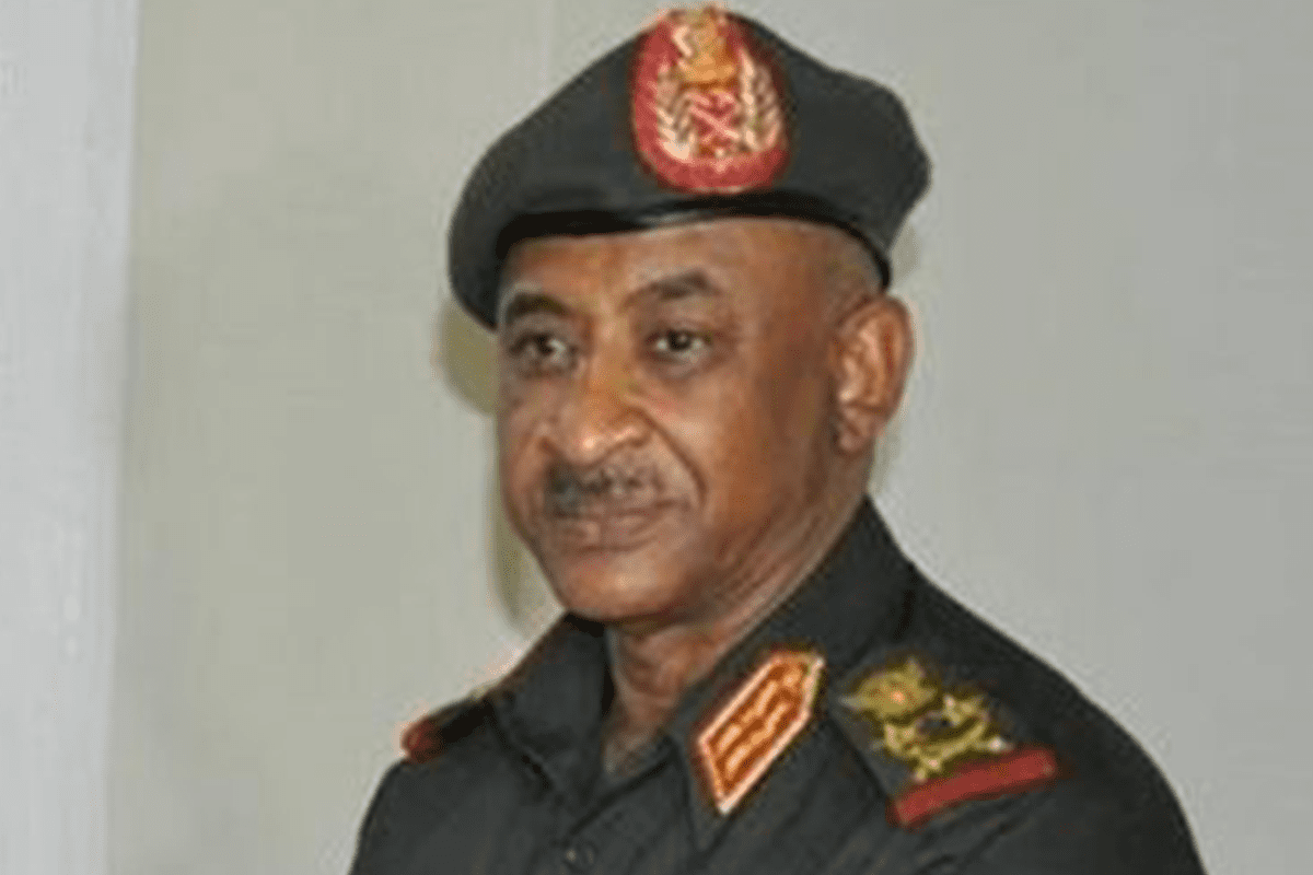 Lt. Gen. Kamal Abdul Maroof, chief of staff of the Sudanese national army [Wikipedia]