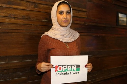 Sundus Azza, a Palestinian who lives in Hebron, West Bank