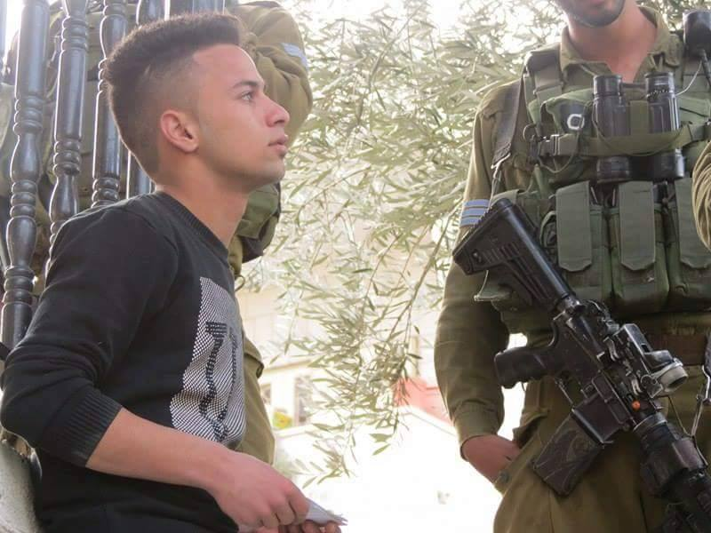 Youth Against Settlements volunteer Ahmad Azza