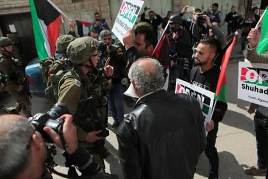Youth Against Settlements volunteer Ahmad Azza