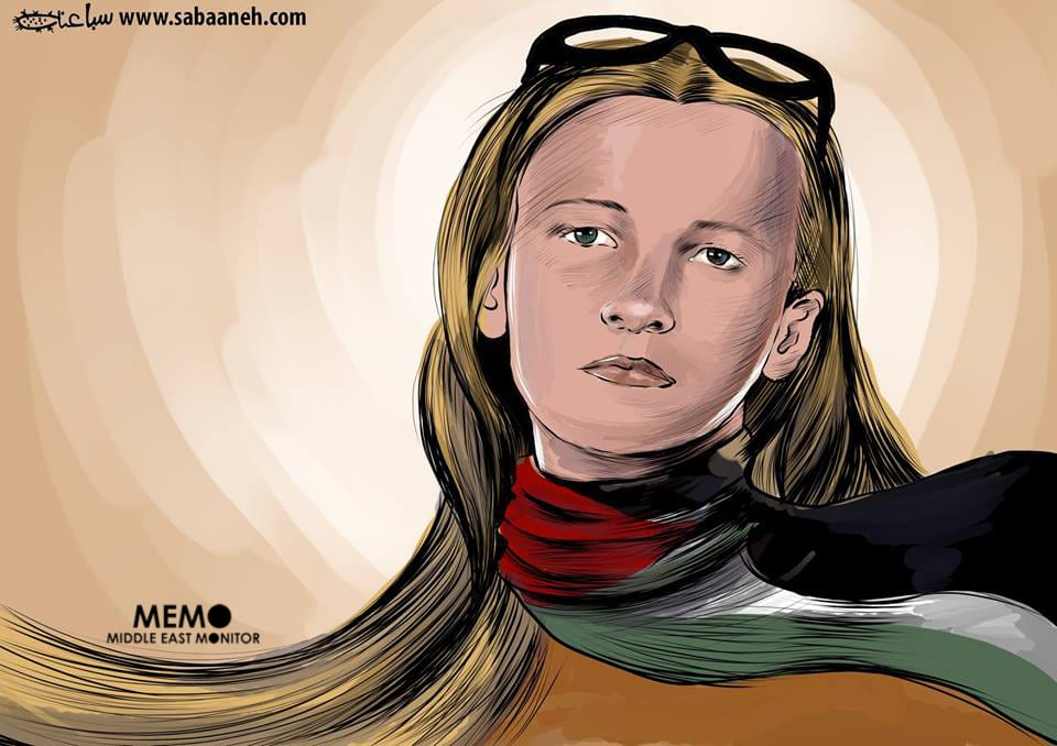 Remembering Rachel Corrie [Mohammad Sabaaneh/Middle East Monitor]