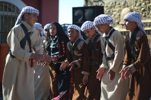 World Heritage Day in Gaza [Mohammed Asad/Middle East Monitor]