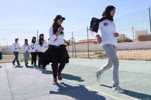 Tunisians take part in Generation For Peace events which aim to end racism and discrimination in society Jordan-based NGO Generation For Peace holds events to encourage social cohesion and local peacebuilding at a grassroots level in Tataouine, Tunisia. [GFP Program]