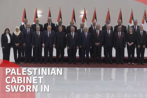 Thumbnail - New Palestinian cabinet sworn in