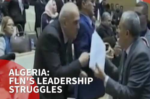 Thumbnail - Algerian ruling party battles to replace ousted president Abdul-Aziz Boutafliqa