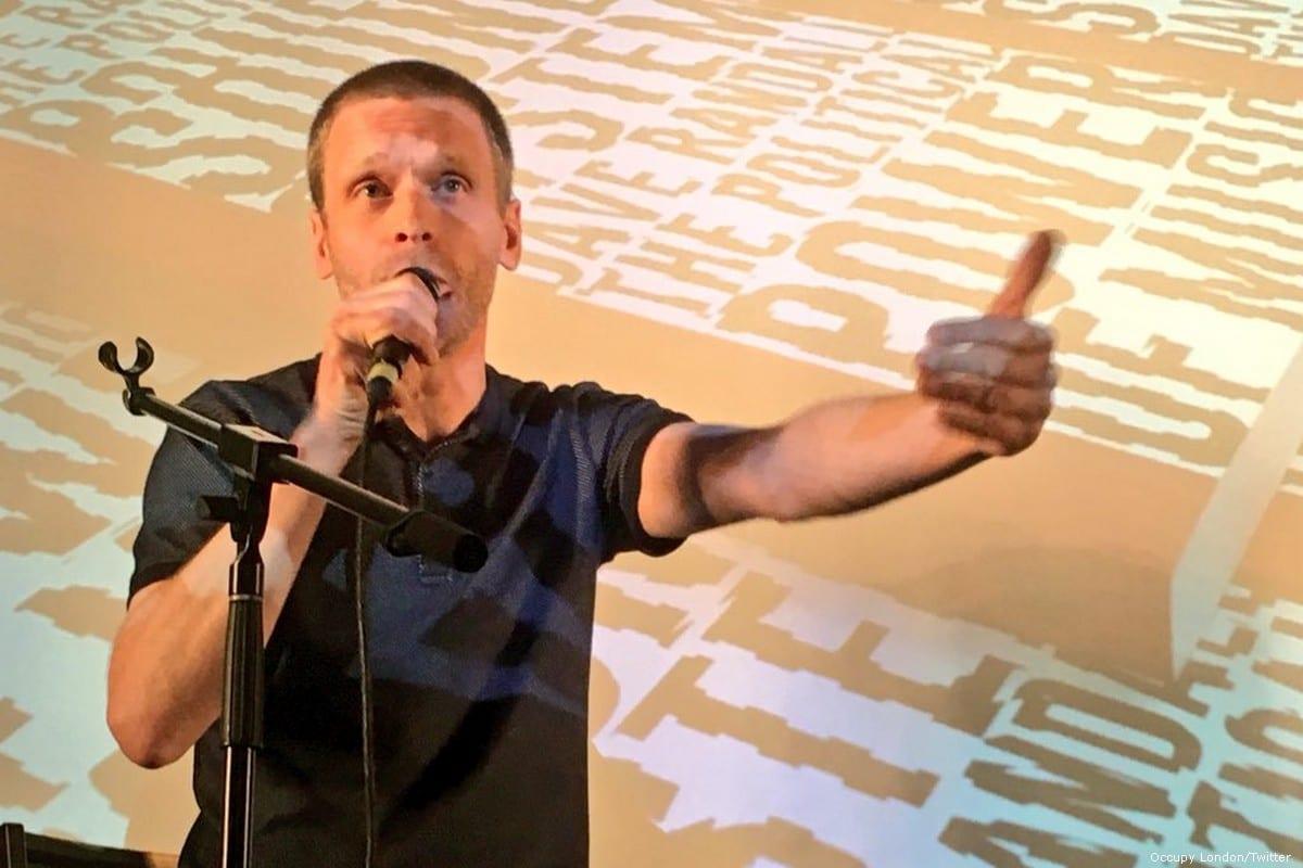 Slovo's band-leader Dave Randall