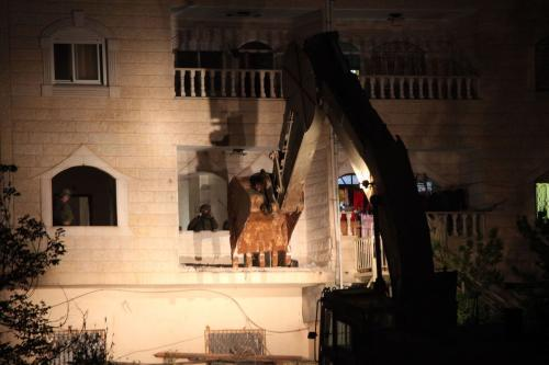 Israel demolishes Palestinian home in the West Bank