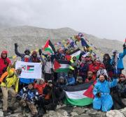 Flying high: Palestinians reach Everest base camp