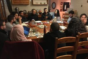 A group of Palestinian youth from the US, Palestine, the Arab region, Europe and South Africa come together for a study programme in Johannesburg, South Africa