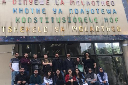 A group of Palestinian youth from the US, Palestine, the Arab region, Europe and South Africa come together for a 10-week study programme in Johannesburg, South Africa