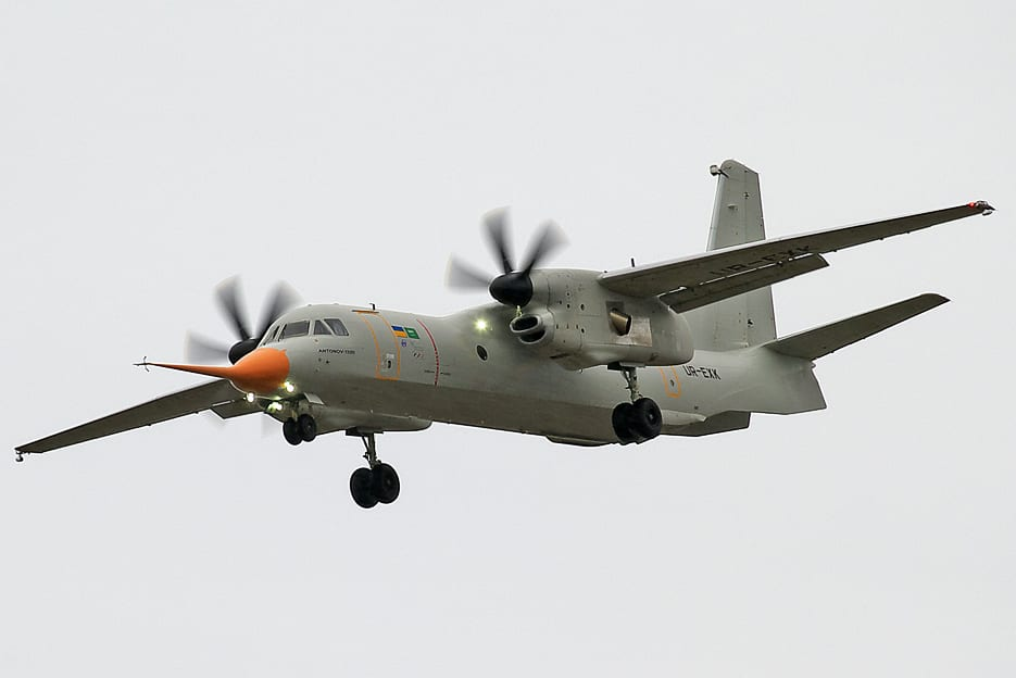 An-132 military transport aircraft [Wikipedia]