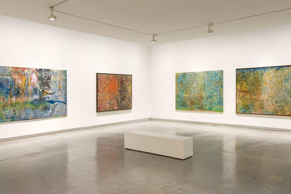 Frank Bowling: Mappa Mundi (2018) - [Sharjah Art Foundation]