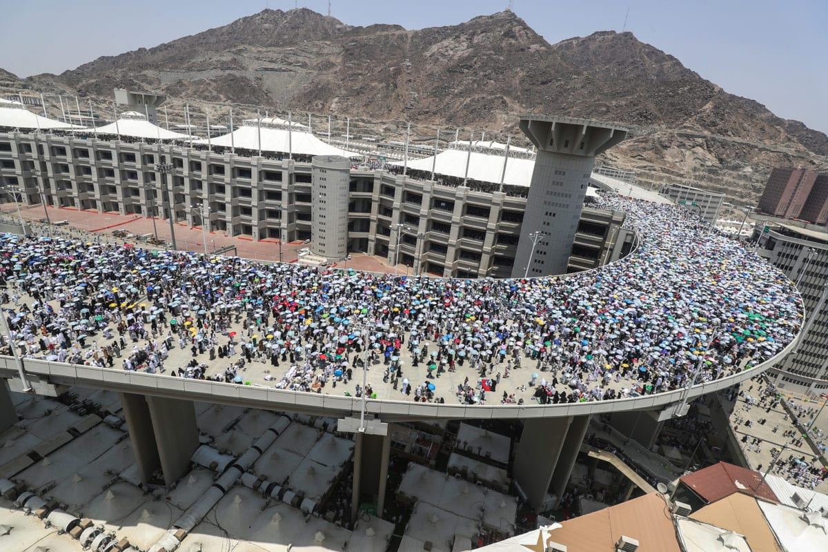 Muslim Pilgrims Converge On Jamarat For Ritual Stoning Of The Devil Middle East Monitor