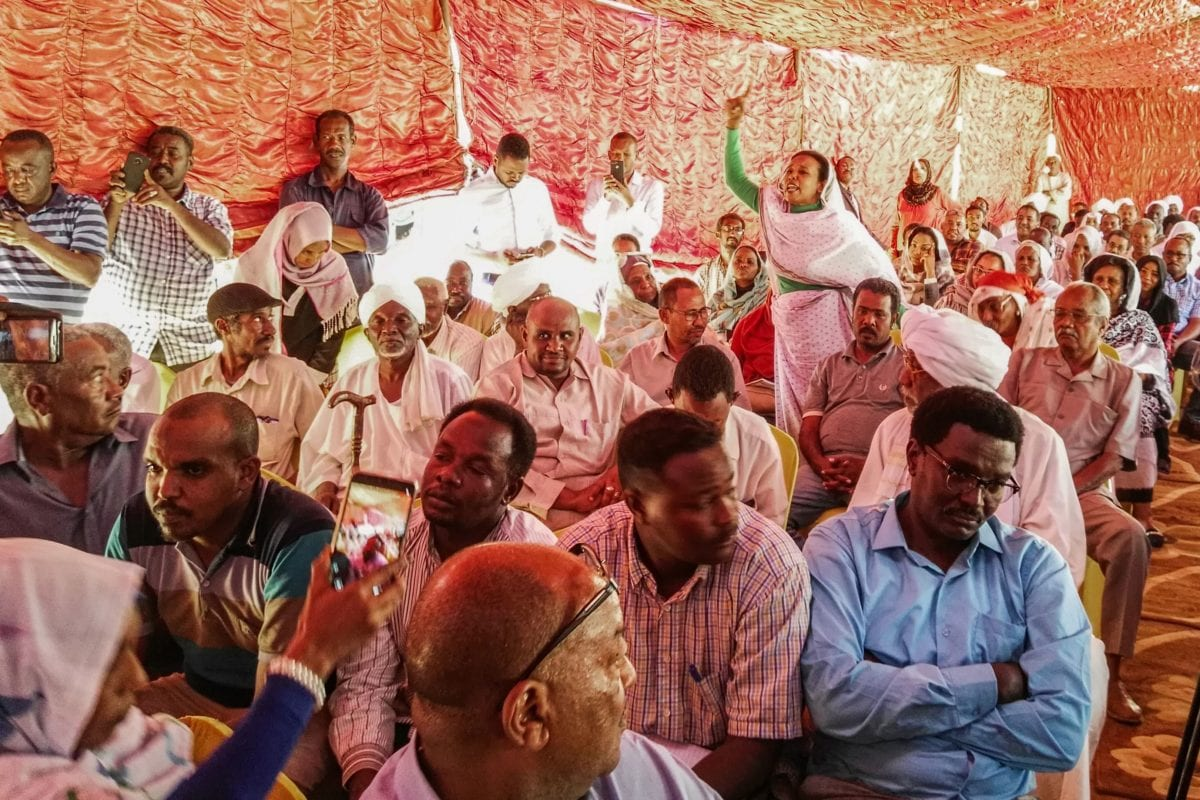 Sudan's prosecution sues officers over involvement in dispersing sit