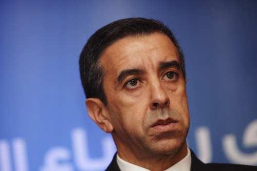 Ali Haddad, a prominent businessman on 26 October 2015 [YAD KRAMDI / AFP / Getty]