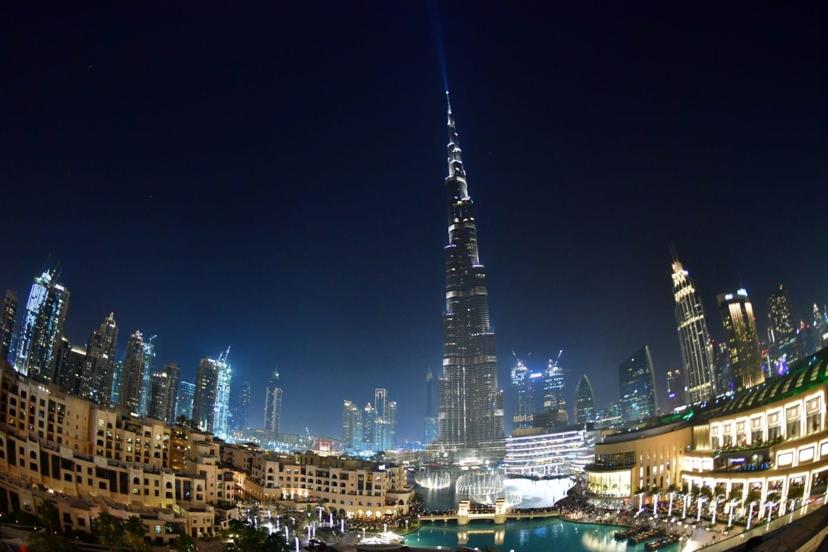 Burj Khalifa, the tallest tower in the world, in downtown Dubai, on 29 March 2018 [AFP PHOTO / GIUSEPPE CACACE / Getty]