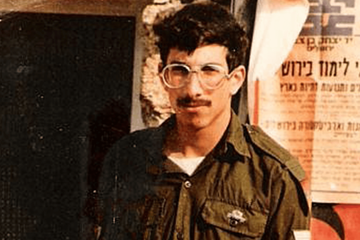Israeli soldier, Zachary Baumel, 21 when he was declared missing in action along with two other soldiers in the Battle of Sultan Yacoub during Israel's invasion of Lebanon [Twitter]