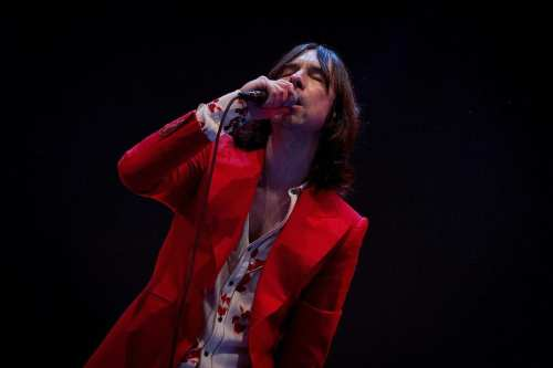 British band Prime Scream's lead singer Bobby Gillespie [Nmartinezr / Wikimedia]