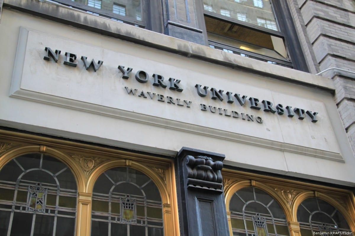 New York University [Benjamin KRAFT/Flickr]