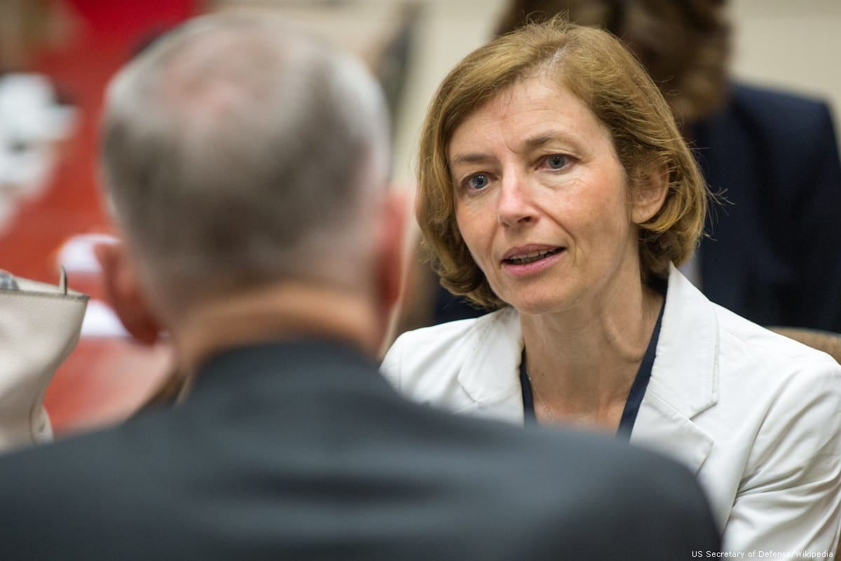 French Defence Minister Florence Parly in Brussels, Belgium on 29 June 2017 []