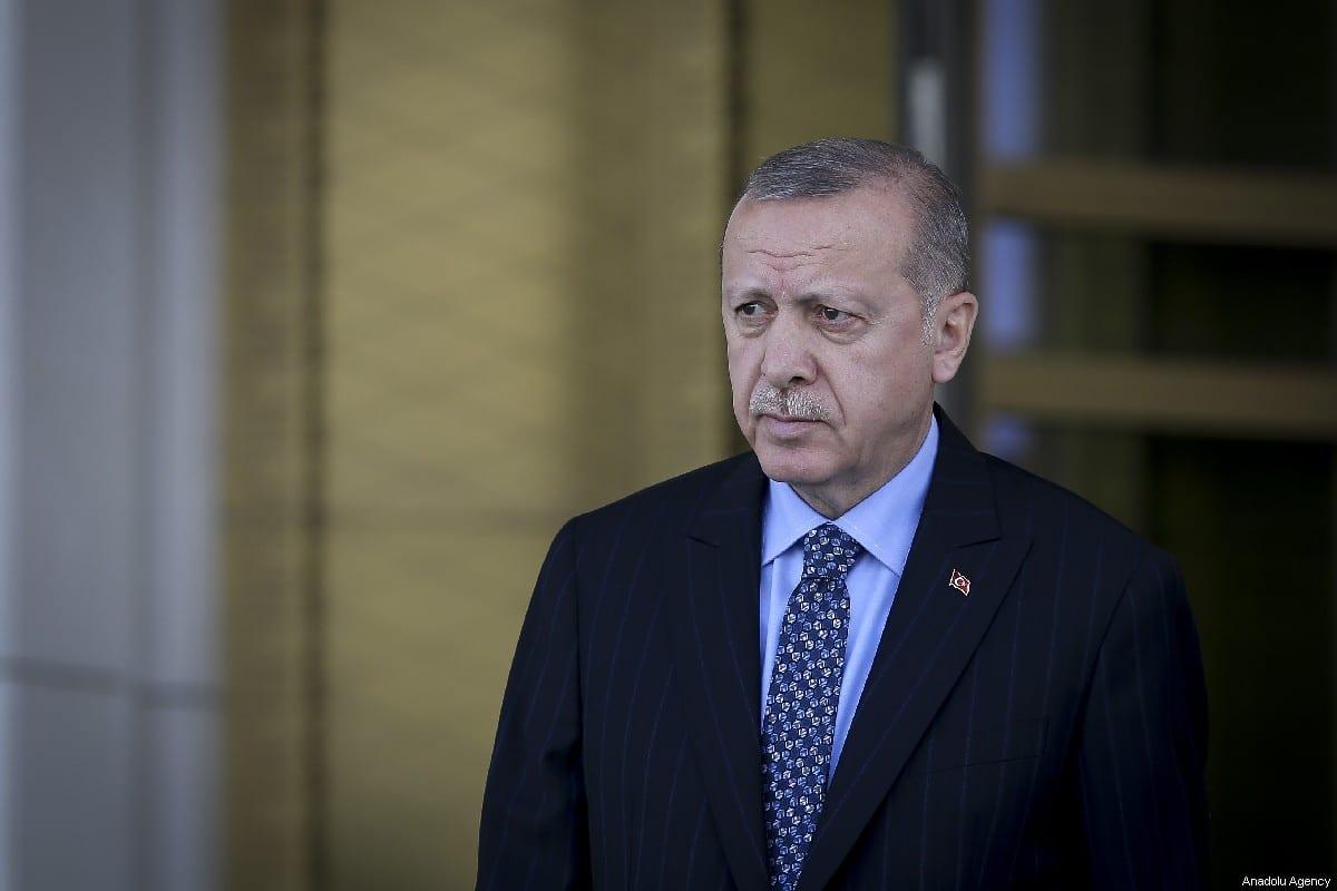 Turkish President Recep Tayyip Erdogan in Ankara, Turkey on 15 May 2019 [Erçin Top/Anadolu Agency