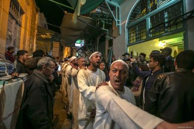 Tunisian Muslims perform invocation to mark Islamic holy month of Ramadan in Tunis, Tunisia on 17 May, 2019 [Yassine Gaidi/Anadolu Agency]