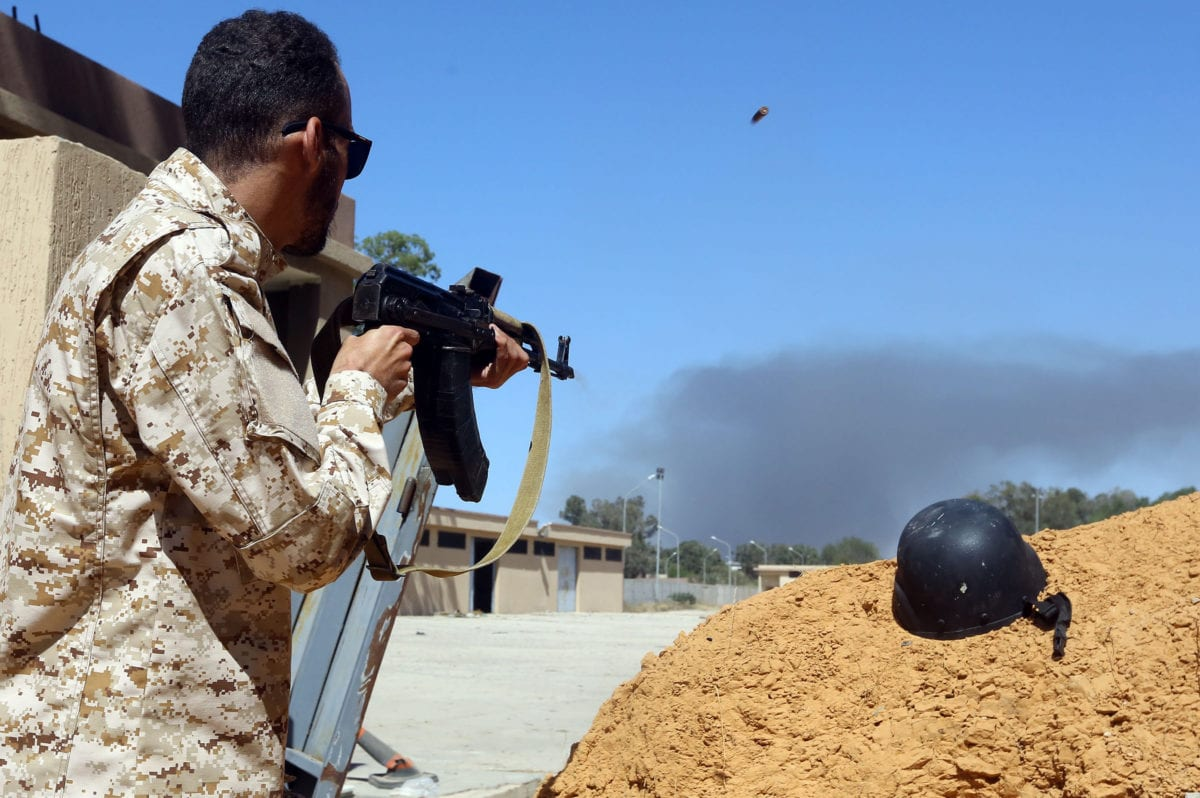 Libya's Haftar loses main base south of Tripoli in surprise blow