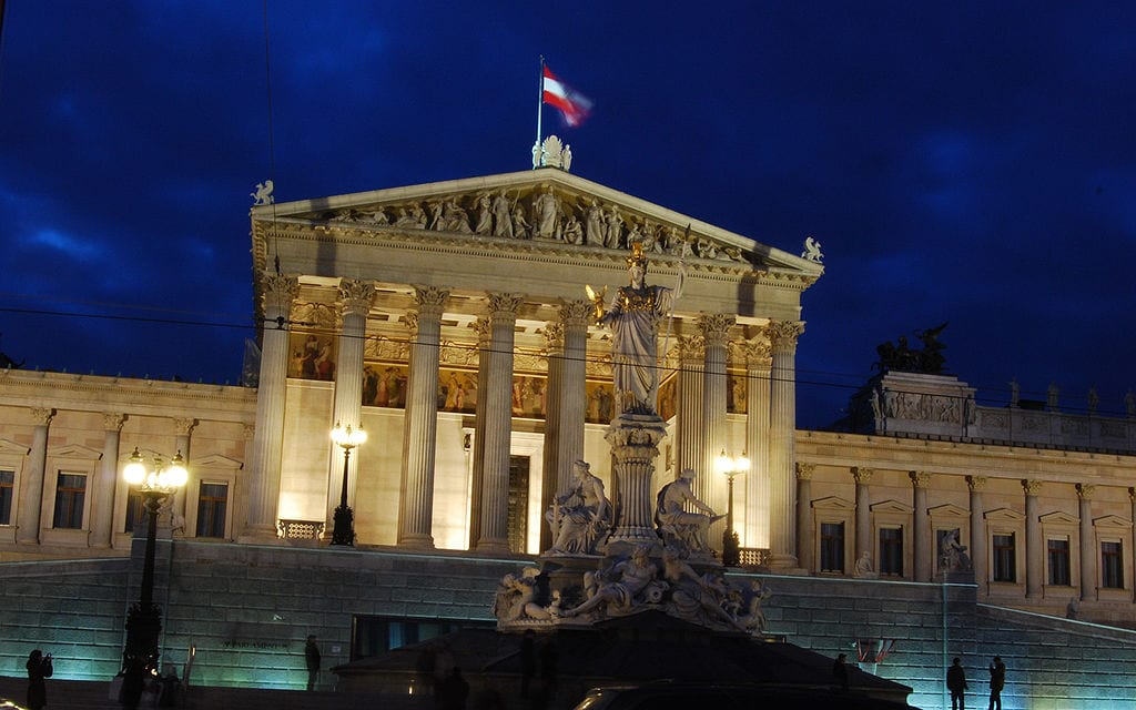 Austria's parliament [Wikipedia]
