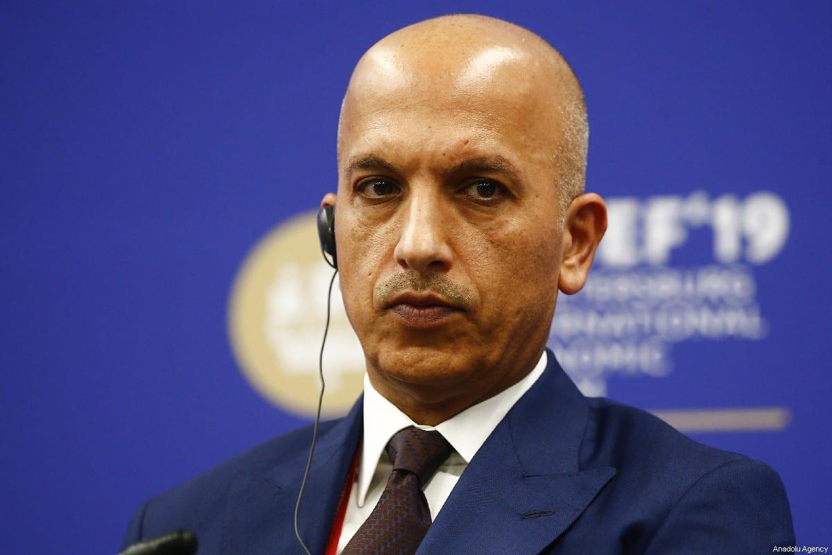 Ali Shareef Al-Emadi, Minister of Finance of Qatar in Saint Petersburg, Russia on 6 June 2019. [Sefa Karacan - Anadolu Agency]