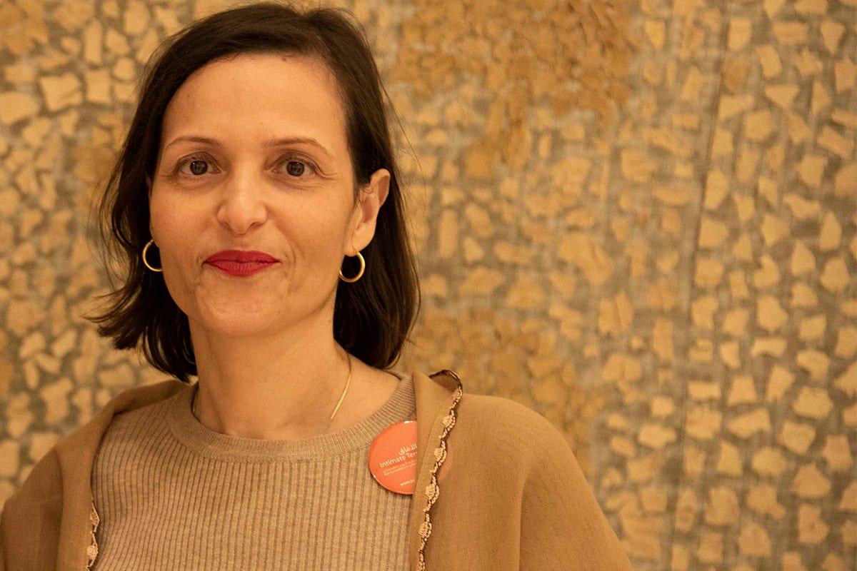 A writer and academic, Dr Adila Laïdi Hanieh