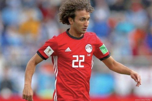 Egyptian midfielder Amr Warda