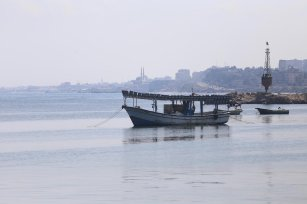 Israel bans Palestinians from fishing off Gaza coast, on 12 June 2019 [Mohammed Asad - Middle East Monitor]