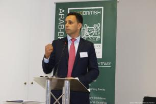 Ghassan Amayra, CEO of MENACatalyst at at Palestine Entrepreneurship Day in London, UK on 14 June 2019 [Jehan Alfarra/Middle East Monitor]