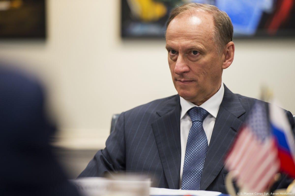 Secretary of the Russian Security Council Nikolai Patrushev