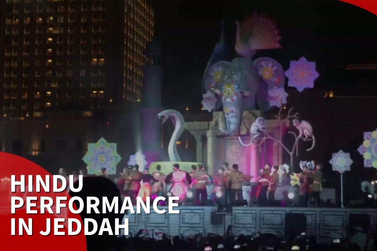 Hindu God centre of Indian performance at Jeddah Festival