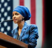 #IStandWithIlhan trends after Trump's racist attacks