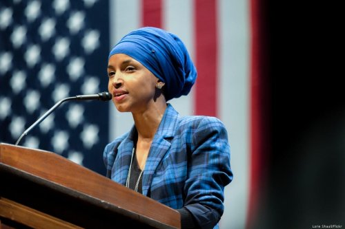 US congresswoman Ilhan Omar in Minnesota, US on 4 October 2016 [Lorie Shaull/Flickr]