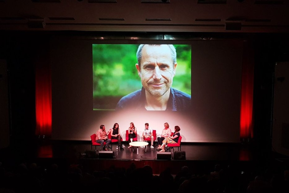 A Q&A session with the film's director Leila Sansour , Jeremy's wife filmmaker Katie Barlow, ISM activist Chris Dunham, CEO of MAP Aimee Shalan and Jocelyn Hurndall the mother of young British photojournalist Tom Hurndall who was shot by the Israeli army