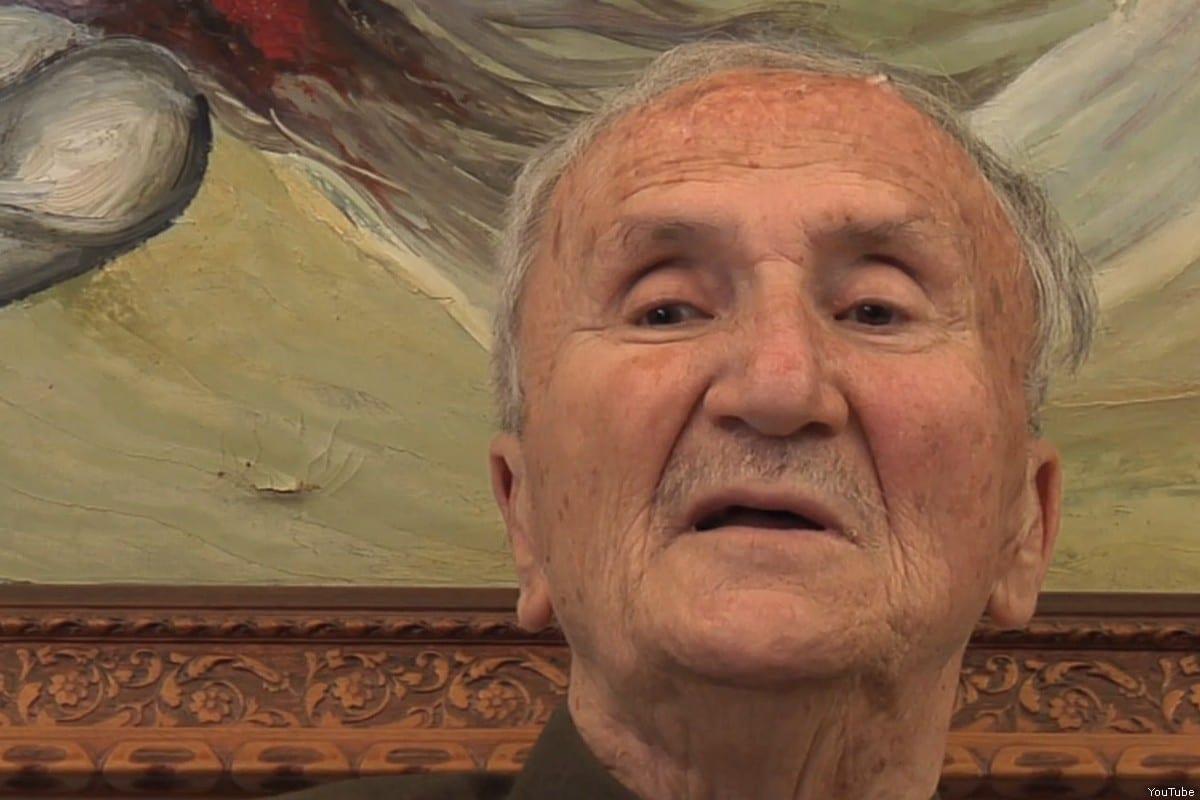 Former Palestinian mayor of Nablus Bassam Shakaa, who died on 22nd July 2019 [YouTube screenshot]