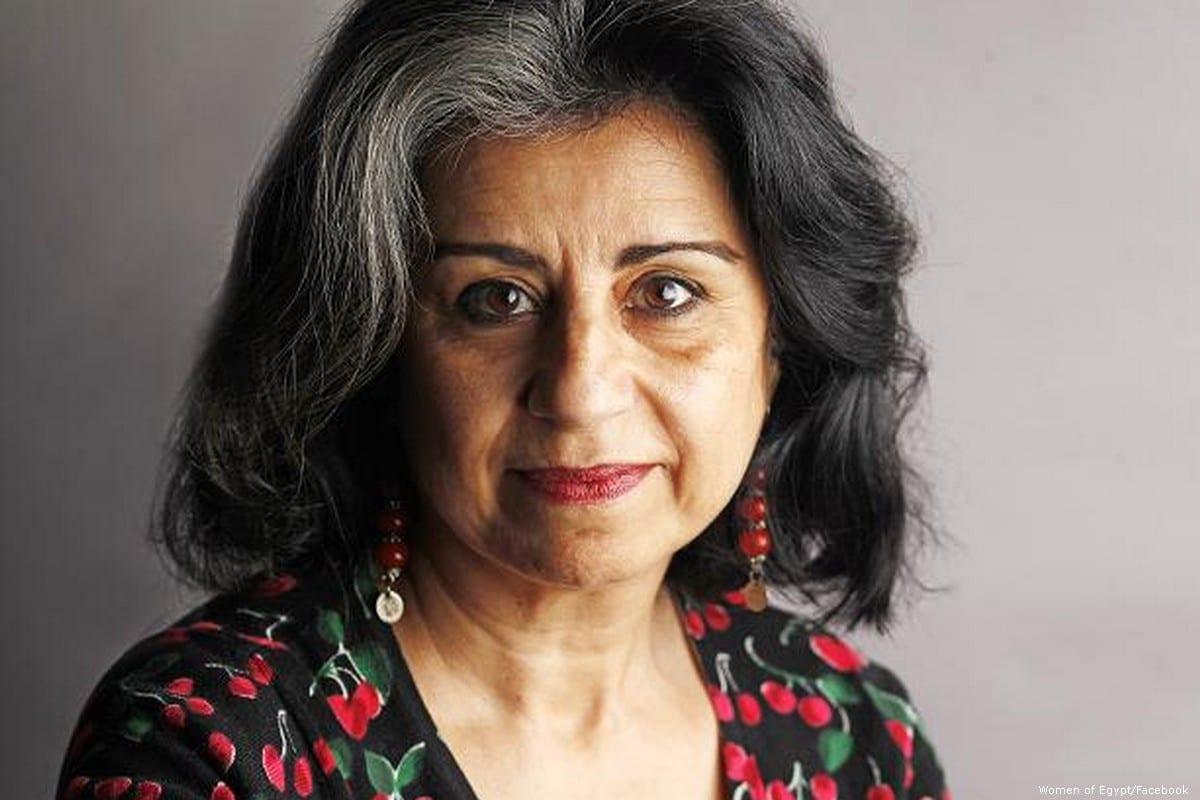 Egyptian author Ahdaf Soueif [Women of Egypt/Facebook]
