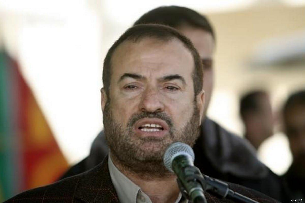 Fathi Hammad, a member of Hamas