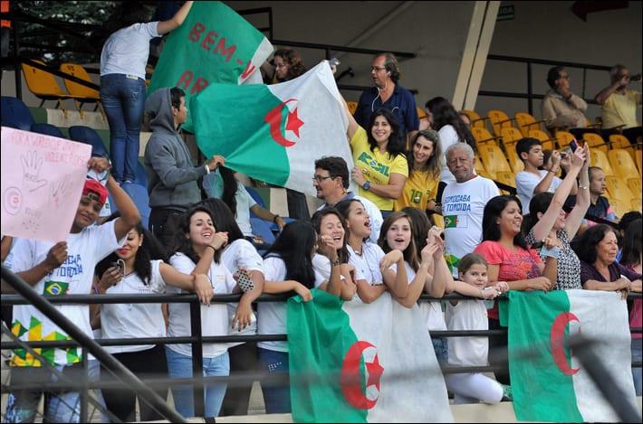 Algerian fans [Wikipedia]