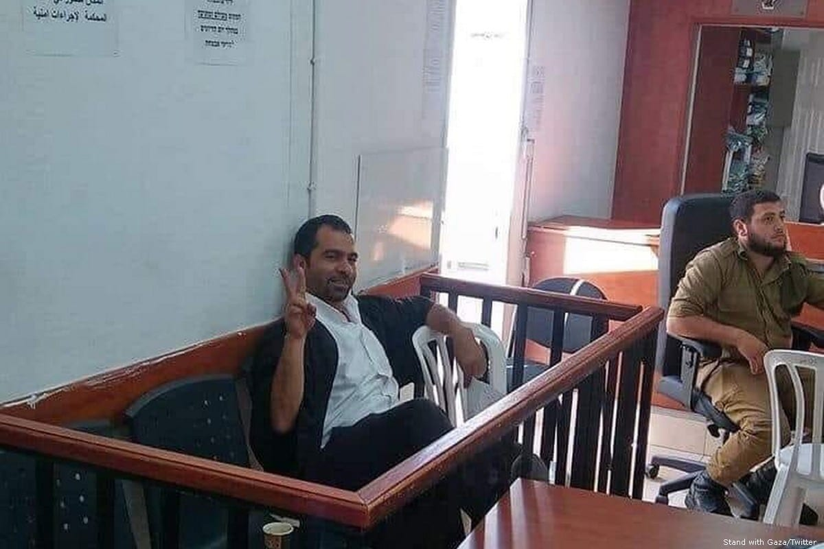 Tariq Barghouth, a prominent lawyer known for defending Palestinian prisoners held by Israel [Stand with Gaza/Twitter]